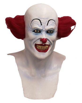 Halloween Clown-Maske mit Brust