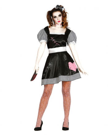 Horror doll women's costume