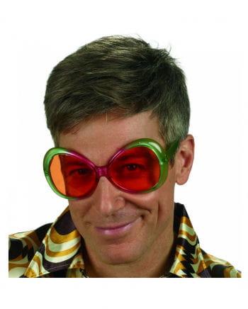 70er Jahre Retro Hippie Brille