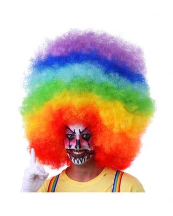 XXL Afro Perücke Multicolor
