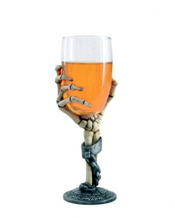 Beer Glass Skeleton Hand