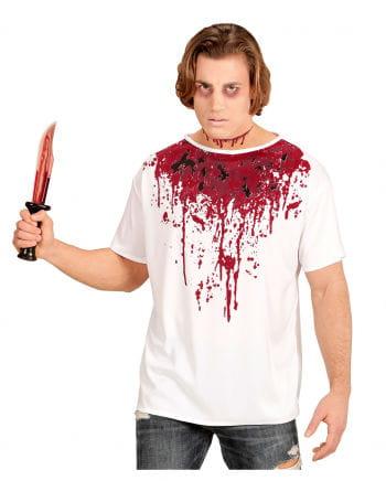 Blutiges Kostüm-Shirt