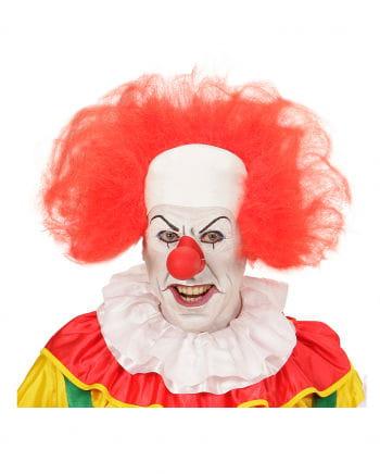 Clown Perücke mit Halbglatze