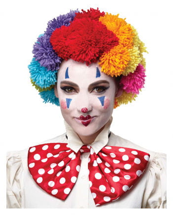 Colorful Clown Wig Wool