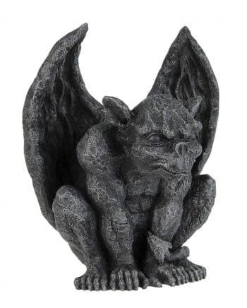 Gargoyle Figur zum Sprung ansetzend
