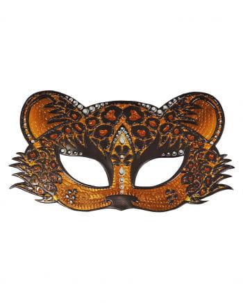 Augenmaske Leopard mit Straß
