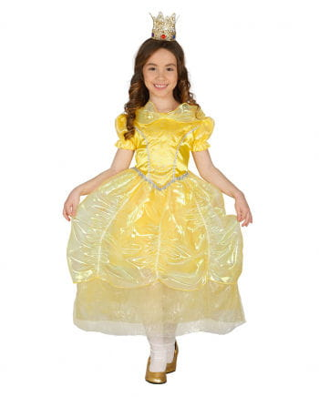 Prinzessinkleid Kinderkostüm Gelb