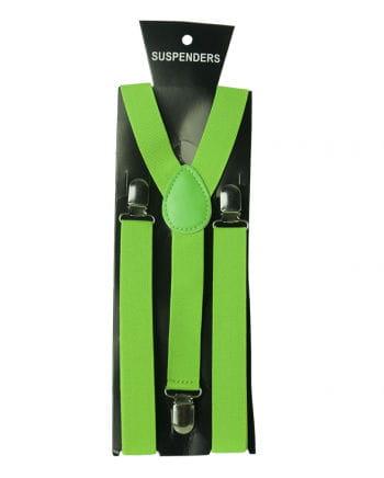Braces neon green