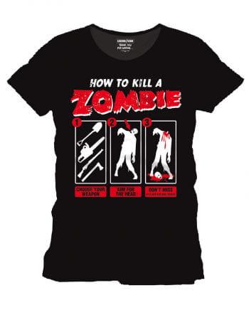 How to kill a zombie T-Shirt