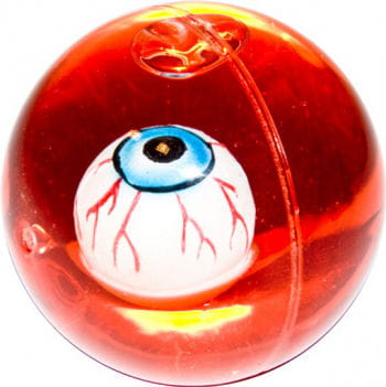Bouncy Ball with Bloody Eyeball