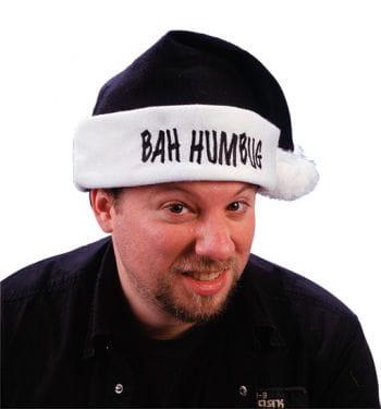 Schwarze Humbug Weihnachtsmütze