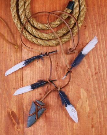Indianer Krieger Schmuck mit Pfeilspitze