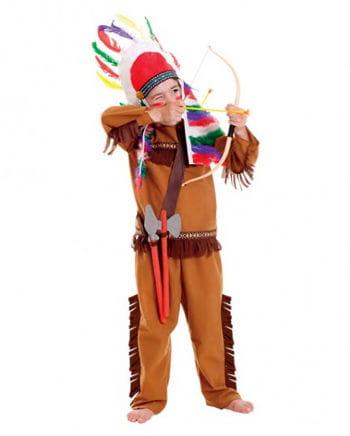 Indianer Jungen Kostüm Set