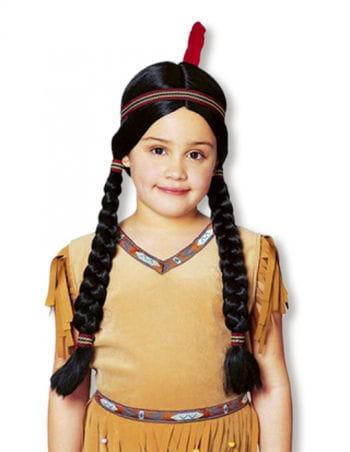 Indianer Perücke für Kinder