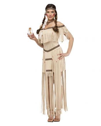 Indianerin Squaw Frauenkostüm