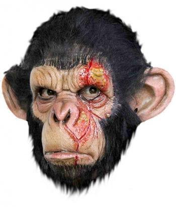 Gruselige Affenmaske