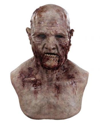 Offener Kieferbruch Zombie Silikon Maske