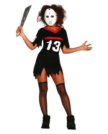 Hockey ladies costume with mask