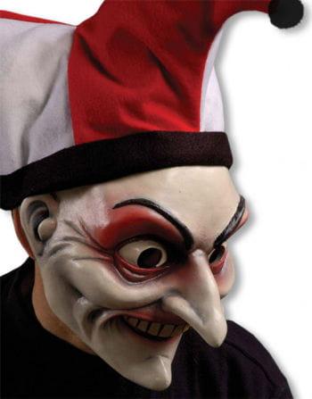 Joker Maske mit Mütze