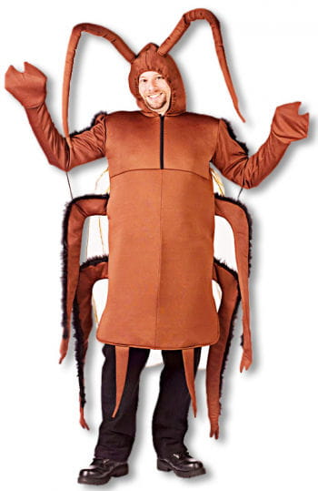Cockroaches Costume One Size