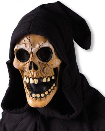 Hooded Skull Mask Beige