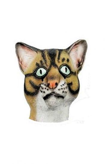 Katzen Latex Maske