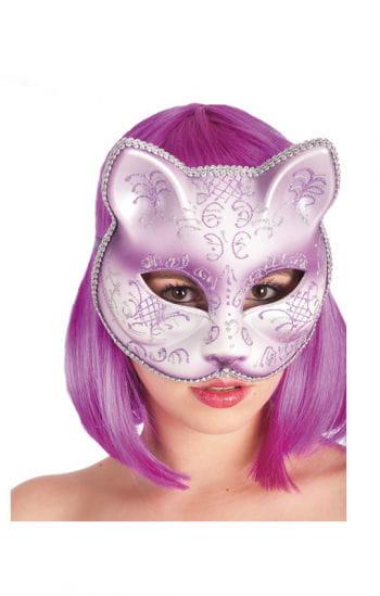 Damen Katzenmaske violett