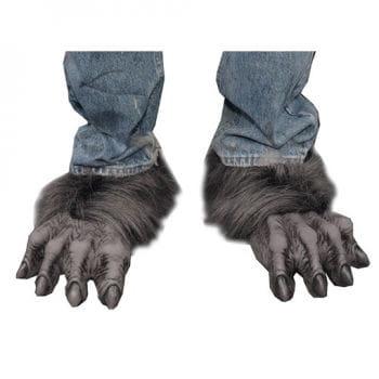 Killer Wolf Füße Schwarz/Grau