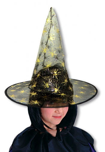 Child Witch Hat with Little Spiders
