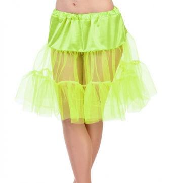 Kinder Petticoat gelb