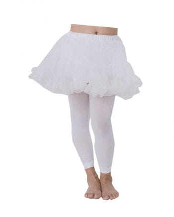 Children petticoat white