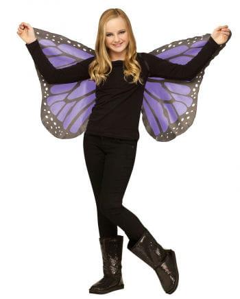Violette Schmetterlingsflügel für Kinder