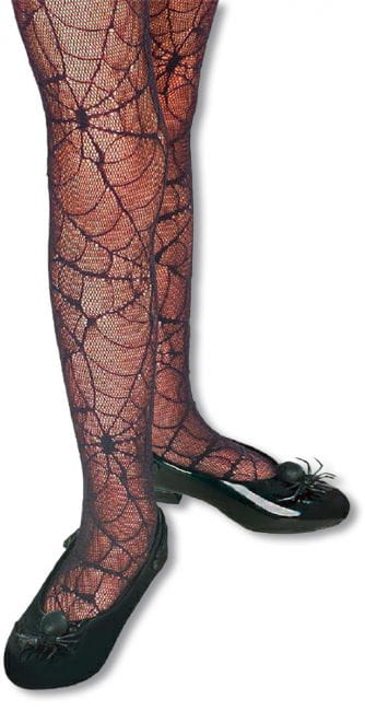 Child Spiderweb Tights