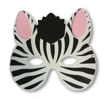 Kinder Maske Zebra