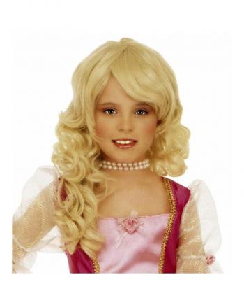 Blonde Kinderperücke Cindy
