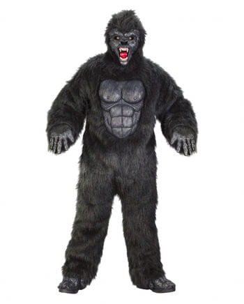 Schwarzes Gorilla Kostüm
