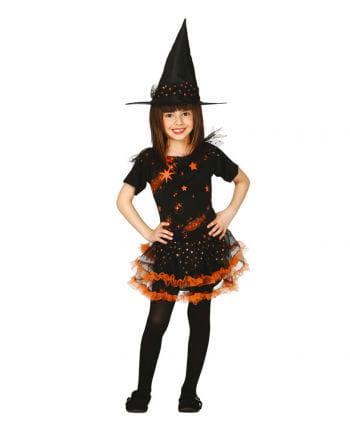 Kleine Hexe Estrella Mädchenkostüm