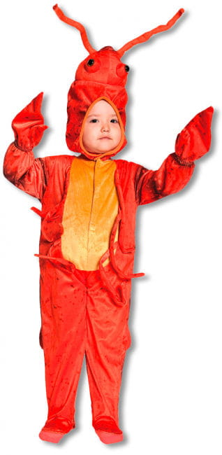 Little Lobster Kids Costume Large