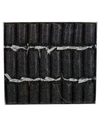 Crackers glitter effect black 8