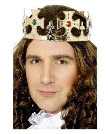 Royal crown with precious stones