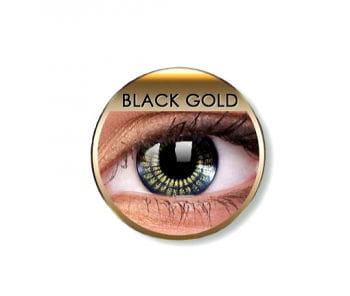 Contact lenses Black Gold