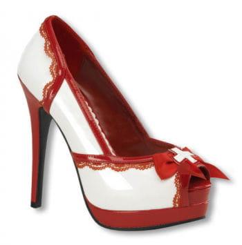 Krankenschwester Schuhe Plateau