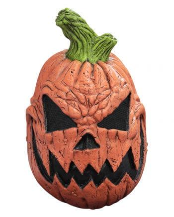 Pumpkin Head Latex Mask