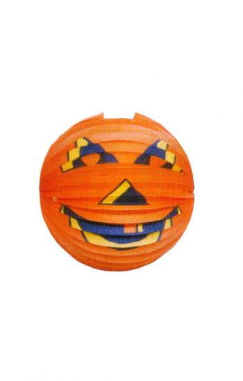 Round pumpkin lantern