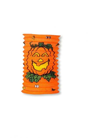 Kürbis Laterne / Lampion 20 cm orange