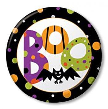 BOOO- Fledermaus Pappteller 8er Set