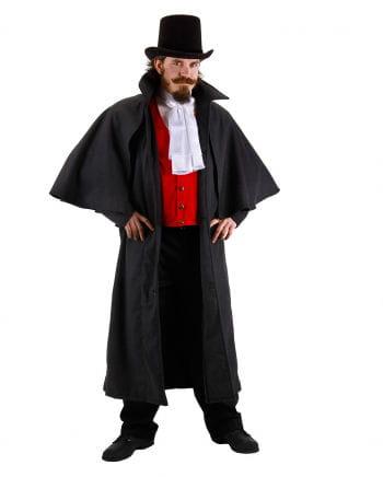 Kutscher Kostüm-Mantel dunkelgrau