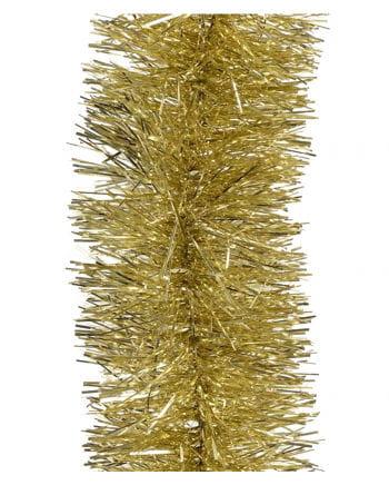Tinsel garland - Gold 2,7m