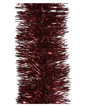 Tinsel garland - Bordeaux 2,7m