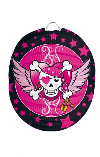 Papier Lampion Pirate Girl